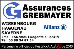Festifoot 2013 - Assurances Grebmayer Wissembourg