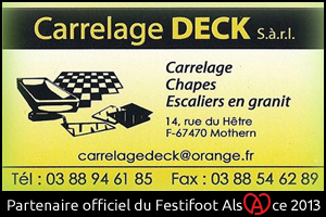 Festifoot 2013 - Carrelage Deck Mothern