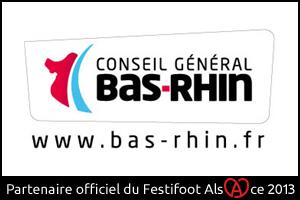 Festifoot 2013 - Conseil Général du Bas-Rhin Strasbourg