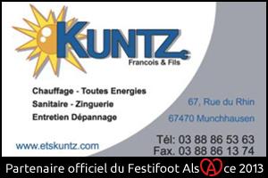 Festifoot 2013 - Chauffage François Kuntz Munchhausen