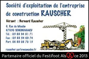 Festifoot 2013 - Entreprise de construction Rauscher Scheibenhard