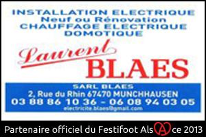 Festifoot 2013 - Electricité génerale Laurent Blaes Munchhausen