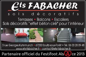 Festifoot 2013 - Ets Fabacher Soultz-sous-Forêts