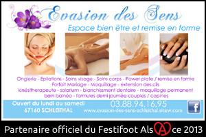 Festifoot 2013 - Evasions des Sens Schleithal