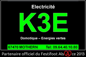 Festifoot 2013 - K3 Electricité Mothern