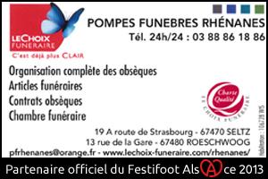 Festifoot 2013 - Le Choix Funéraire Pompes Funèbres Rhénanes Seltz
