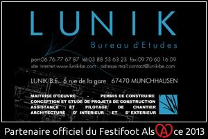 Festifoot 2013 - Lunik Bureau d'Etudes Munchhausen