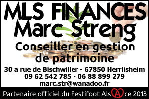 Festifoot 2013 - MLS Finances Marc Streng Herrlisheim
