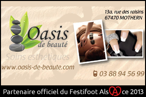 Festifoot 2013 - Institut Oasis de beauté Mothern
