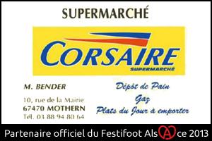 Festifoot 2013 - Supermarché Corsaire Bender Mothern