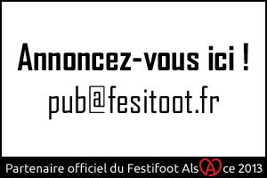Festifoot 2013 - Votre pub ici