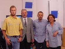 Le 9 septembre 2001, Nicolas Schmitt pr閟entait le site web du F.C. Mothern, lors de l'閙ission Sport Show..