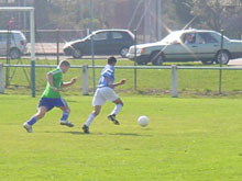 Men� deux buts � z閞o, Mothern a su r閍gir et inscrire trois buts en onze minutes !