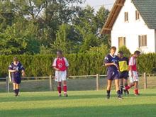 Mothern - Soufflenheim pour la reprise de la Promotion.