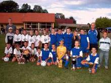 Les jeunes pousses du FC Mothern participent au � Challenge Andr�-Hahn �.