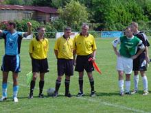 Diminu閑, l'閝uipe fanion re鏾it le FC Herrlisheim.