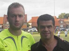 Jos� Guerra (ici lors du Festifoot 2007) et le Sporting seront une nouvelle fois pr閟ents � Mothern.