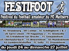 Festifoot 2008 : � l抲n des rendez-vous int閞essants de l掗t� du foot alsacien �