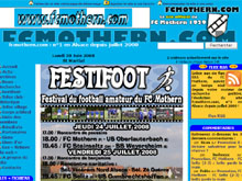 www.fcmothern.com, � n�en Alsace depuis le 1er juillet 2000 �