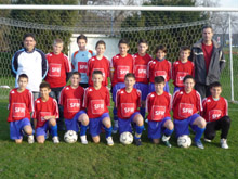 Les 13 ans B II champions d抋utomne