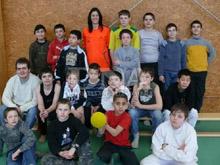 Les jeunes ont disput� un match arbitr� par S関erine Zinck.