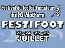 Le FC Mothern enregistre la 1鑢e participation du FCSR Obernai.
