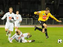 Julien Geyer, buteur face � St-Louis.
