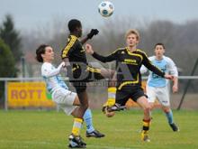 Les U15 de Schleithal ont n'ont pas fait de figuration face au RC Strasbourg.