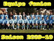 L'閝uipe fanion, version 2009-2010.