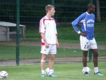 L'US Raon-l'Etape prend au s閞ieux la confrontation de ce vendredi face au FC Kickers Offenbach.