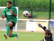 Amin Tighazoui (� g.) et les SR Colmar ont encore deux matches pour s'閠alonner avant la reprise en National.
