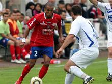 Abdel Moukhlil et les Mulhousiens du FCM ont laiss� passer leur chance et ont pris un but en contre.