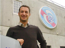 Fran鏾is Keller, le coach du Racing 2.