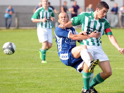 L'AS Hunspach ici en septembre dernier face � La Wantzenau a arrach� le nul face au FC Mothern.