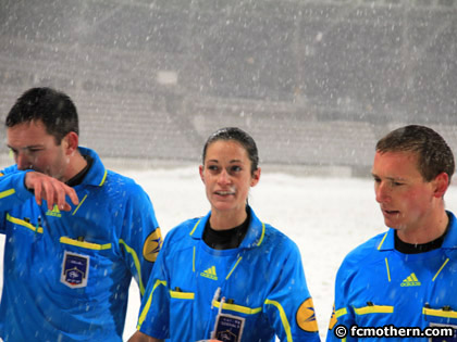 S関erine Zinck a d閏ouvert ce samedi le Stade Charl閠y.