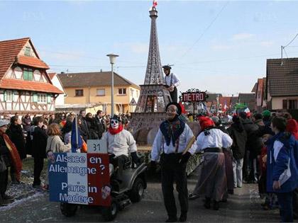Si l'Alsace est en Allemagne, pourquoi Paris ne serait-elle pas � Mothern ?