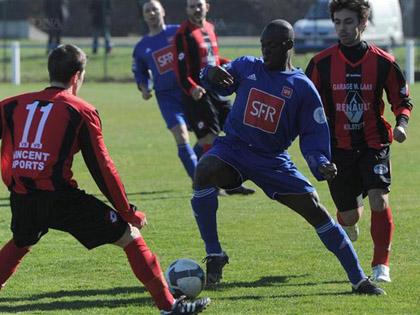 Robert Koudjodji et le FC Mothern se rendent � Drusenheim.