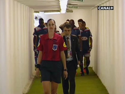 S関erine Zinck lors de FC Girondins de Bordeaux - AC Arles-Avignon.