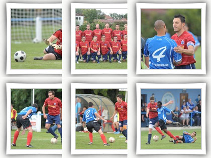 L'album photos du match SRD Saint-Di� - FR Haguenau (1-1).