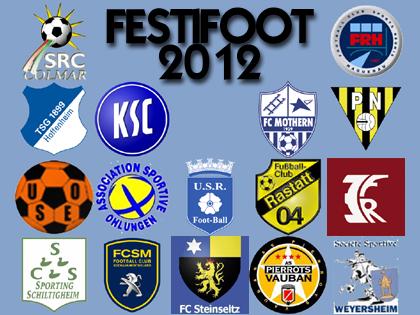 Le plateau du Festifoot 2012 est une nouvelle fois tr鑣 relev�.