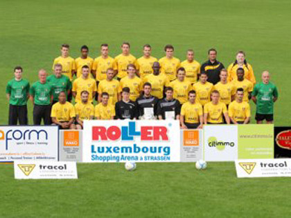 Le FC Progr鑣 Niederkorn, 9鑝e de la derni鑢e BGL-League, la Division 1 luxembourgeoise.
