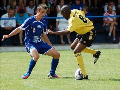La rencontre entre le FC Steinseltz et l'AS Pierrots Vauban Strasbourg a 閠� tr鑣 disput閑.