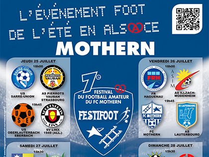 L'affiche officielle de l'閐ition 2013 du Festifoot.