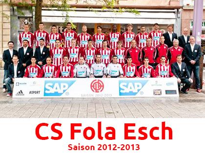 Le CS Fola Esch, leader actuel de la BGL Ligue sera pr閟ent fin juillet � Mothern.