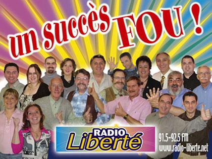 Radio Libert�, la radio de proximit� du nord de l'Alsace, 91.5 et 92.5 FM.