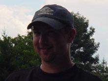 Jo雔 Camolli, auteur d'un quadrupl� pour le FC Mothern.