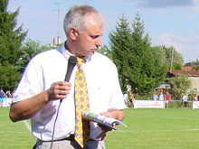 Christian Gerhard, pr閟ident du FC Mothern.