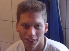 Alain Joerger, capitaine heureux d'une r閟erve victorieuse (3-0) devant Riedseltz II.