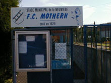 Le Stade de la Neuwiese impraticable ce week-end !